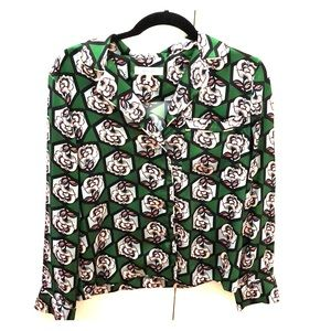 Green Milly Blouse